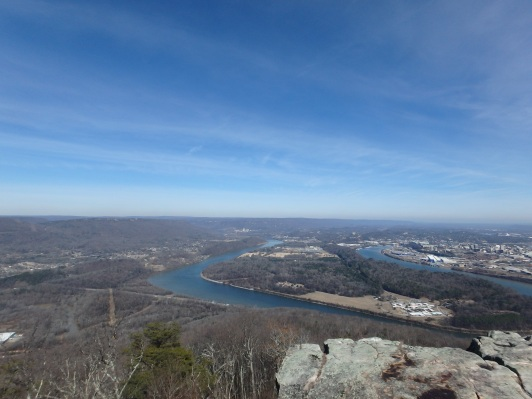 View from the Bluff Trail